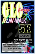 Arkansas Fusion Glo Run 5K