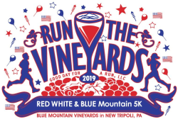 Run the Vineyards - Red White and Blue Mountain 5K
