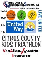 Citrus County Kids Triathlon Results
