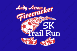 Lady Arrow Firecracker 5K Trail Run and 1 Mile fun run