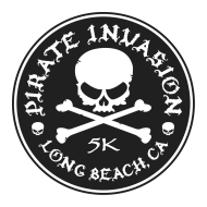 Pirate 5K Invasion of the Belmont Pier // 5K Run - Walk