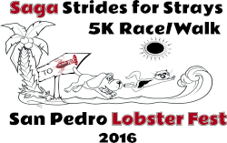 Saga Strides for Strays 5k Run/Walk