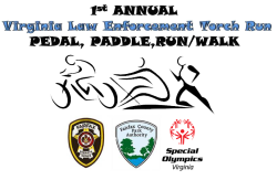 Virginia Law Enforcement Torch Run Pedal, Paddle, Run/Walk