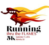 Running thru the Flames 5k