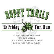 Hoppy Trails Free Friday 5k Fun Run - Black Mountain Open Space