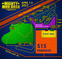 Mighty Mud Dash April 9th 2017 Houston Premium Spectator