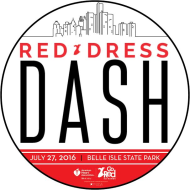 Red Dress Dash 5K and Mile Fun Run