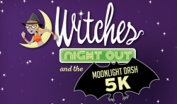 Witches Night Out and the Moonlight Dash 2016