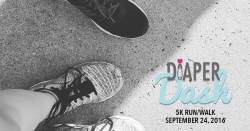 Diaper Dash 5K Family Run Walk