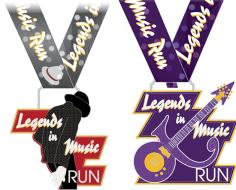 The Legends in Music Virtual Run (Round 2) - 5k/10k/Half Marathon