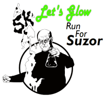 2017 Let's Glow Run 5k for Suzor