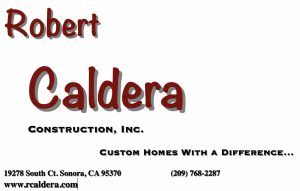 Robert Caldera Contruction, Inc