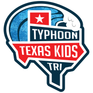 Typhoon Texas Kids Triathlon Logo