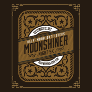 Half-Moon Outfitters Moonshiner 5k Night Trail Race