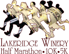 Lakeridge Winery Half Marathon, 10K & 5K