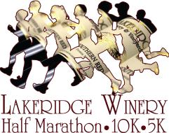 Lakeridge Winery Half Marathon, 10K & 5K