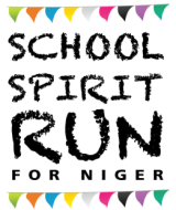 School Spirit Run for Niger 5K