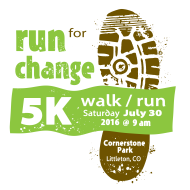 Run For Change 5K Walk/Run