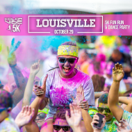 Color Vibe 5K -- Louisville
