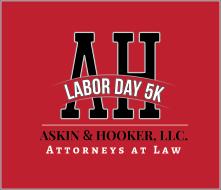 Labor Day 5K - Reg. Sun. 4-6pm or Monday 7:30-8:50 a.m.