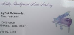 Ability Delelopment Music Academy