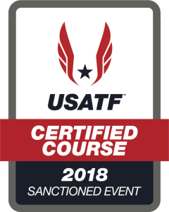 USA Track & Field Sanctioned & Certified Course