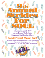 9th Annual Strides for SOUL