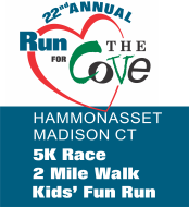 Run for The Cove 2019 - 5K, 2M Memorial Walk & Kids' Fun Run
