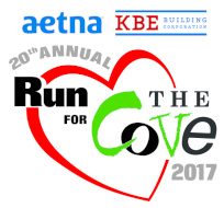 Run for The Cove 2017 - 5K, 2M Memorial Walk & Kids' Fun Run