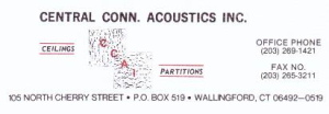 Central CT Acoustics Inc.