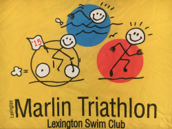 Lexington Marlin Triathlon for Kids and Adults (relays too!)