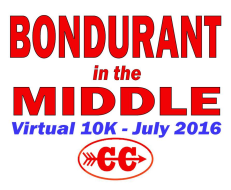 Bondurant in the Middle Virtual 10K