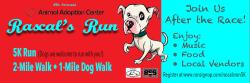 Rascal's Run 5k, 2-mile Fun Walk & 1-mile Dog Walk - September 19, 2020