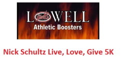 4th Annual – Nick Schultz Live, Love Give 5K Run/Walk