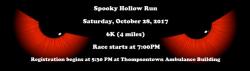 Spooky Hollow Run