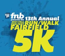 FNB Fall Fun Fest Run/Walk Fairfield 5K
