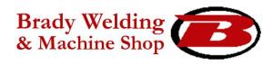 Brady's Welding & Machine Shop