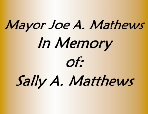 Mayor Joe A. Matthews
