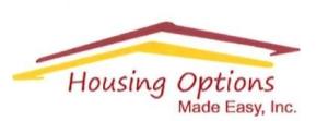 Housing Options Made Easy, Inc.