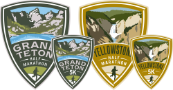 Grand Teton & Yellowstone Half Marathons & 5Ks