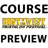 Course Preview - Best in the West Triathlon Festival
