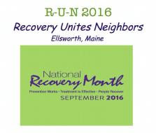R-U-N: Recovery Unites Neighbors 5K Road Race