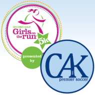 Girls on the Run Fall 5k Run/Walk, presented by the Canton Akron Soccer Club