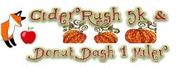 Cider Rush 5k & Donut Dash 1 Miler