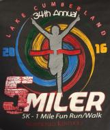 35th Annual  Lake Cumberland 5 Miler/5K/1 Mile Fun Run