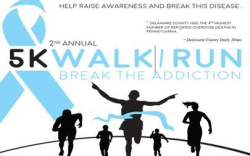 Break The Addiction 5K Race/Walk