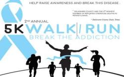 Break The Addiction 5K Race/Walk
