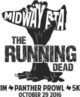 Midway PTA Panther Prowl:  The Running Dead 5K/1M