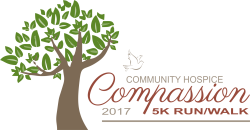 Community Hospice 5K Compassion Run/Walk.