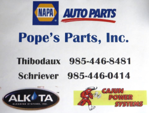 Pope's Parts